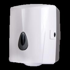 Держатель рулoна бумажных полотенец, материал белый пластик ABS SLDN 02