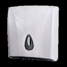 Держатель бумажных полотенец, материал белый пластик ABS SLDN 03