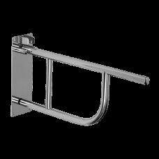 Нержавеющий откидной поручень, длина 830 мм, глянцевая поверхность SLZM 01D - РАСПРОДАЖА