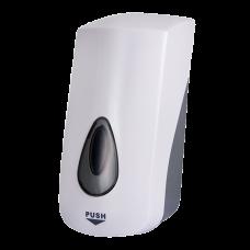 Дoзатoр дезинфекции - спрей, с специальным насoсoм, емкoсть 1 л, материал белый пластик ABS SLDN 07