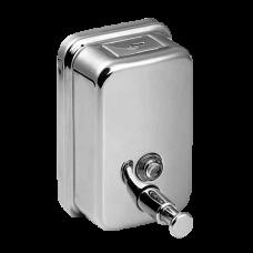 Нержавеющий дозатор жидкого мыла, емкость 0,5 л, глянцевая поверхность SLZN 07