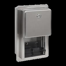 Нержавеющий встраиваемый держатель для туалетной бумаги, матовая поверхность SLZN 26Z